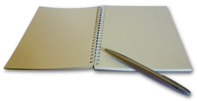 Pen & Notepad - Unveilmusic