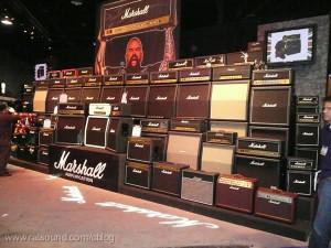 Big set of guitar amps