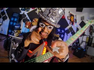 Bootsy Collins with GoPro
